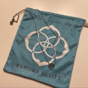 Kendra Scott logo necklace